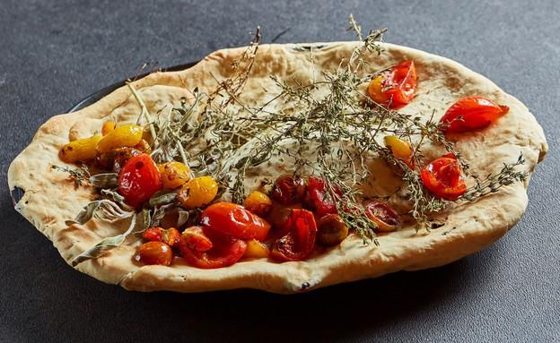 דג על מדורת עגבניות (צילום: אמיר מנחם ,מאסטר שף)