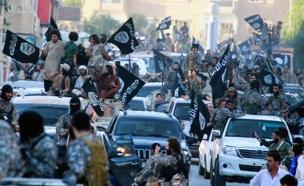 השתלטות דאעש על בסיס צבאי בסוריה (צילום: טוויטר)