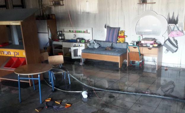 הנזק לבית הספר (צילום: חדשות 2)