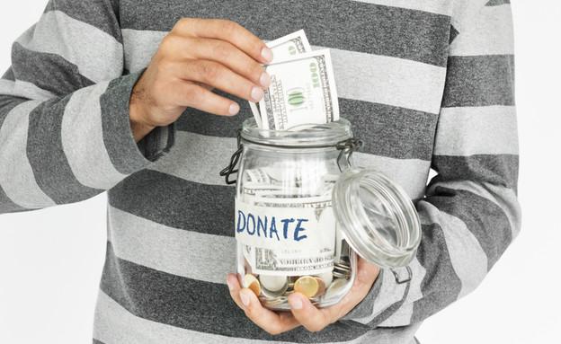 פייפאל תרומה (צילום: Shutterstock)