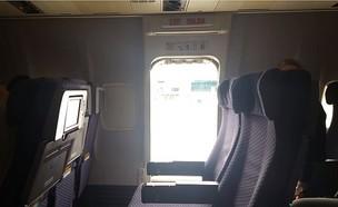 קפצה ממטוס (צילום: פייסבוק)