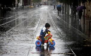 עיריית י-ם: כך תתכוננו לחורף (צילום: פלאש 90, מרים אלשטר)