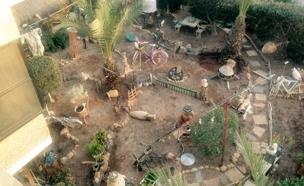 הגינה של נימר וג'יהאן נסאר בטורעאן