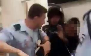 תיעוד התקרית בתחנת המשטרה