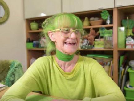 אליזבת הירוקה (צילום: יוטיוב  ,מעריב לנוער)