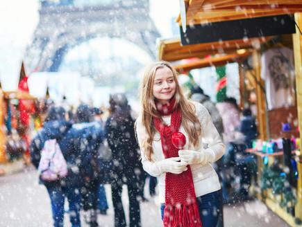 פריז בחורף (צילום: Ekaterina Pokrovsky, Shutterstock)