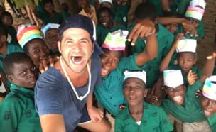 התנדבות באפריקה (צילום: גיא הוכמן)