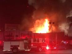 שריפה בקליפורניה (צילום: טוויטר)