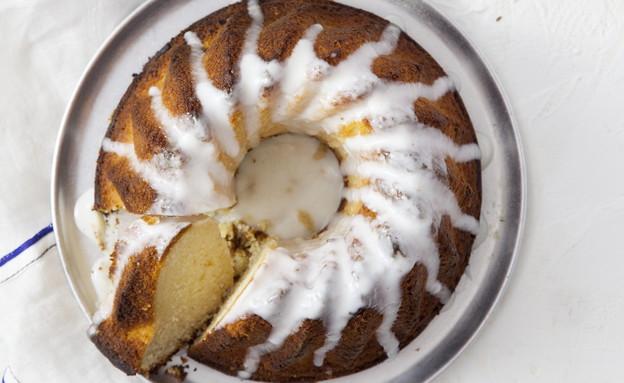 עוגת סולת, יוגורט ולימון (צילום: דניאל לילה, סגנון: דלית רוסו ,מחלבות גד)
