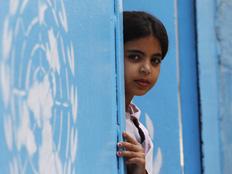"""פליטה סורית במחנה האו""""ם בירדן (צילום: חדשות 2)"""