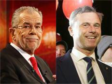 """אוסטריה אמרה """"לא"""" לפופוליזם (צילום: SkyNews)"""