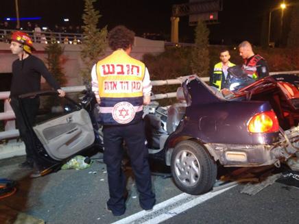 תאונה דרכים בכביש 431