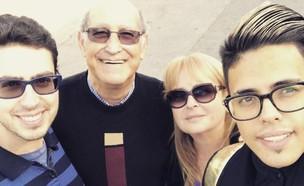 סטטיק ומשפחתו (צילום: instagram ,mako)