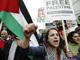 הפגנת תומכי BDS נגד ישראל (צילום: רויטרס)