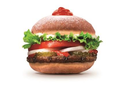 סופגבורגר סופגנייה המבורגר בורגר קינג (צילום: יחסי ציבור ,יחסי ציבור)