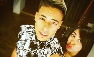סטטיק ובת הזוג (צילום: instagram ,mako)