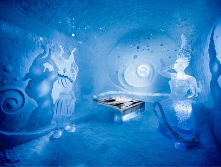 מלון קרח ICEHOTEL (צילום: ICEHOTEL)