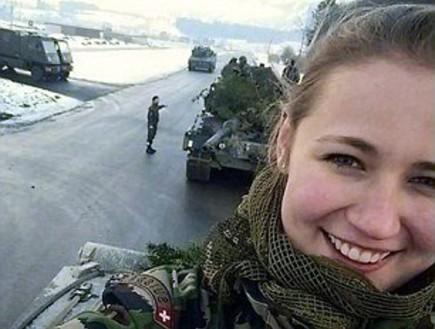 חיילות בצבא שוויץ (צילום: instagram)