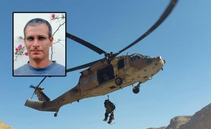 """""""הילד נפל על אביו"""". פעולות החילוץ (צילום: מיכה בן גיגי, יחל""""צ ערד, מתוך עמוד הפייסבוק של עומ)"""
