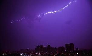 סופת ברקים. ארכיון (צילום: טופז לוק)