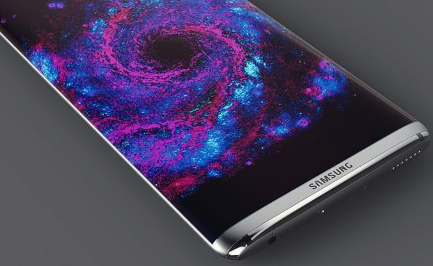 רעיון לעיצוב גלקסי S8 של סמסונג (צילום: Steel Drake, Behance)