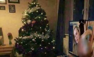 תמונת עץ חג המולד והפורנו של המתאגרף סקוט הול(אינסטגרם)