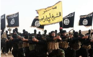 """ארגון המדינה האסלאמית אילוסטרציה (צילום: המדיה החברתית של דאע""""ש)"""
