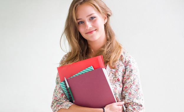 תלמידה (צילום: shutterstock ,מעריב לנוער)