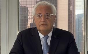 השגריר הבא בישראל, דיוויד פרידמן (צילום: חדשות 2)