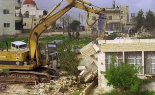 """הרשויות הערביות נגד הוראת ההריסה של רה""""מ (צילום: אבי אוחיון, לע""""מ)"""