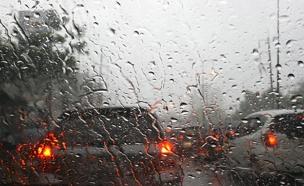 גשם חורף מזג אוויר סערה סופה (צילום: rf123)