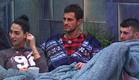 חיים, דן ותאלין בחצר (צילום: מתוך האח הגדול 8 , שידורי קשת)