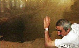 קריסת אולם ורסאי (ארכיון) (צילום: חדשות2)