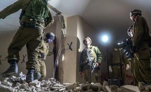 הריסת ביתו של מחבל מהפיגוע בגבעת התחמושת (צילום: חדשות 2)