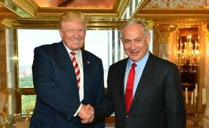 """""""יקשה על השגת השלום"""". טראמפ (צילום: קובי גדעון לע״מ)"""