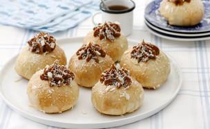 סופגניות אלפחורס אפויות (צילום: נטלי לוין ,אוכל טוב)
