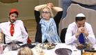 חזי, תהילה ושם על יד השולחן (צילום: מתוך האח הגדול 8 , שידורי קשת)
