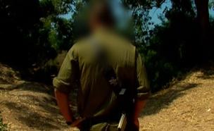 חייל שתיעד התעללות (צילום: חדשות 2)