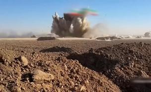 משאית תופת של דאעש מתפוצצת בעיראק (צילום: יוטיוב )