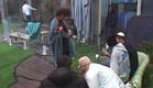 דיירים בחצר (צילום: האח הגדול 24/7)