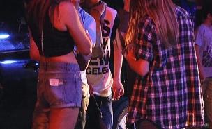 נוער אלכוהול (צילום: חדשות 2)