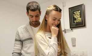 עמרי בן נתן וקסניה טרנטול, ינואר 2017 (צילום: instagram ,instagram)