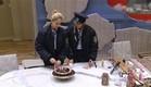 מעיין ואורנה עובדות על העוגה (צילום: האח הגדול 24/7)