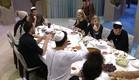 הדיירם בסעודת שישי (צילום: האח הגדול 24/7)