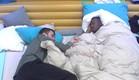 חיים ואנדל בחדר השינה (צילום: האח הגדול 24/7)