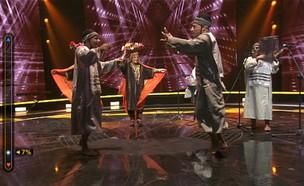 להקת עמקה – מחרוזת תימנית (צילום: מתוך הכוכב הבא לאירוויזיון ,שידורי קשת)