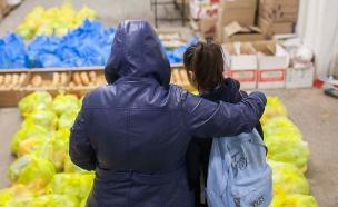 עוני, חלוקת מזון, רעב (צילום: פלאש 90)