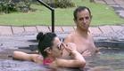תאלין ושמוליק בבריכה (צילום: האח הגדול 24/7)