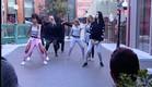 מתאמנים על צעדי הריקוד (צילום: מתוך האח הגדול 8 , שידורי קשת)
