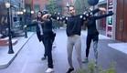 אנדל, שני, דן ותאלין מתאמנים על ריקוד משותף (צילום: האח הגדול 24/7)